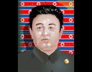 Portrait of Kim Jong Il